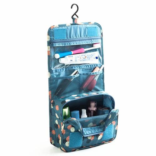 bolso organizador para viaje maquillaje baño colgar de pare