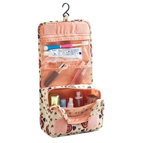 bolso organizador para viaje maquillaje baño colgar pared 2