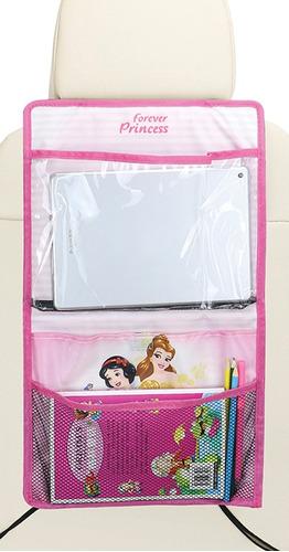 bolso organizador porta tablet butaca auto disney princesas