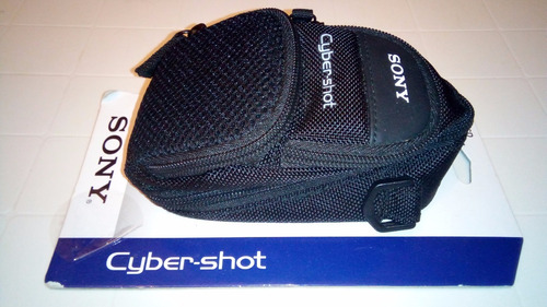 bolso original para camara digital cybershot sony nuevo