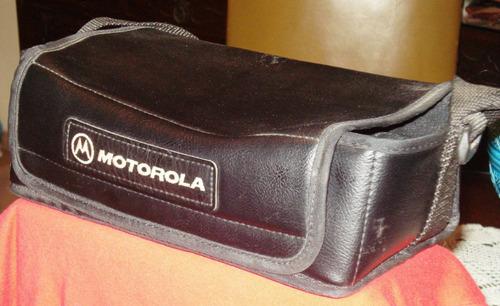 bolso original para  telefono motorola 3000 el ladrillo usa