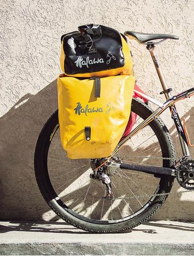 bolso p/ portapaquete bici halawa estanco línea zero 40 l
