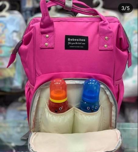 bolso pañalera moderna importado marca bebesitos