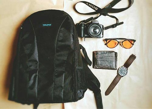 bolso para cámara profesional