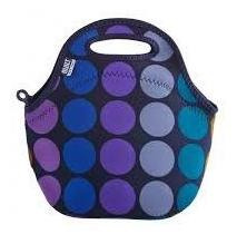 bolso para lunch plum dot built