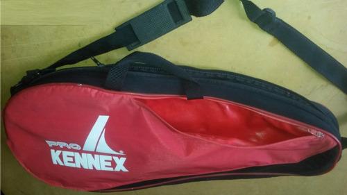 bolso para raquetas de tenis marca kennex