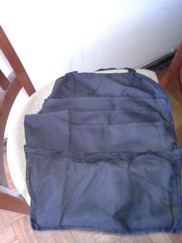 bolso para respaldo silla de auto o silla tradicional