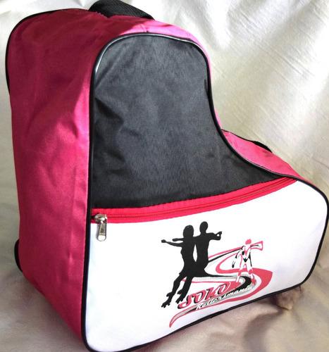 bolso  para roller patin artistico hielo hockey bolsillo