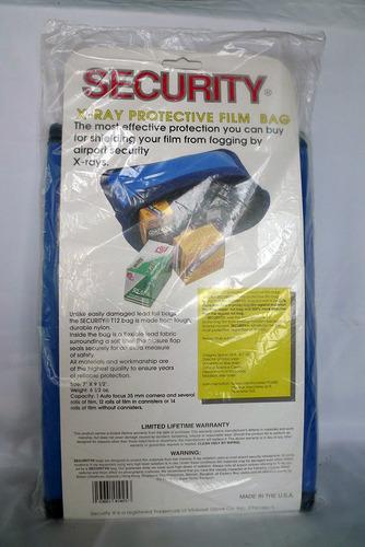 bolso para rollos fotográficos protege de rayos x