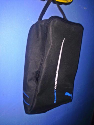 bolso para tacos de fútbol puma en perfecto estado