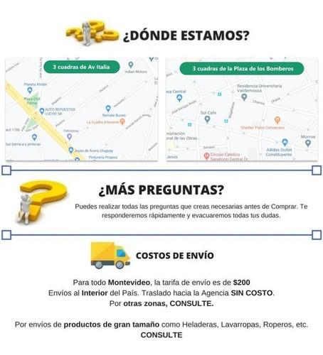 bolso p/bicicleta wtel16-1026 - tecsys 6 cuotas s/recargo