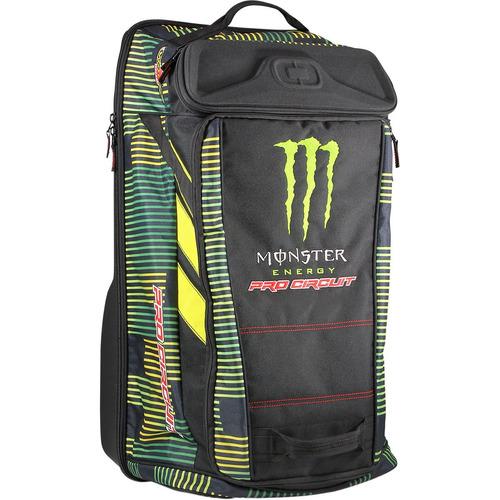 bolso p/equipo pro circuit recon 2016 negro/verde/amar. os
