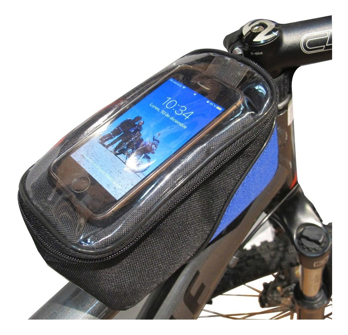 94238e34fc6 Bolso Porta Celular Bicicleta Smartphone Sl Visor Tactil - $ 399,99 ...