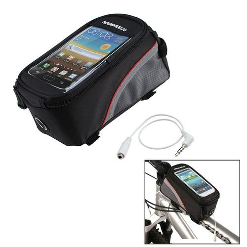bolso porta celular para bicicleta impermeable