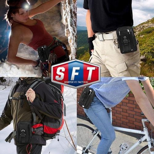 bolso porta celular y documentos molle - semper fi tactical®
