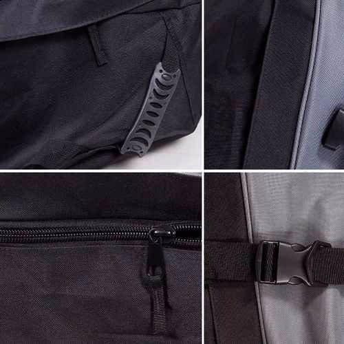 bolso porta cubre equipaje techo flexible 206lts impermeable