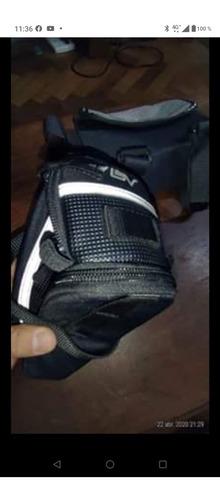 bolso porta documentos y bajo asiento bicicleta usado