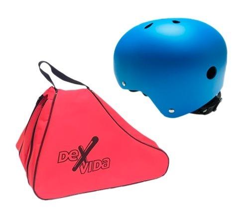 Bolso Porta Rollers Patines Con Casco Protector Resistentes ... 5e413b06cfb