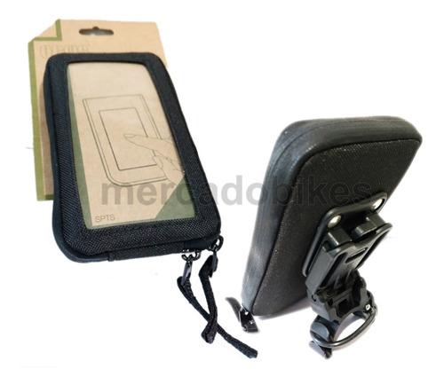 bolso portacelular touch - resistente al agua 77mm x 138mm