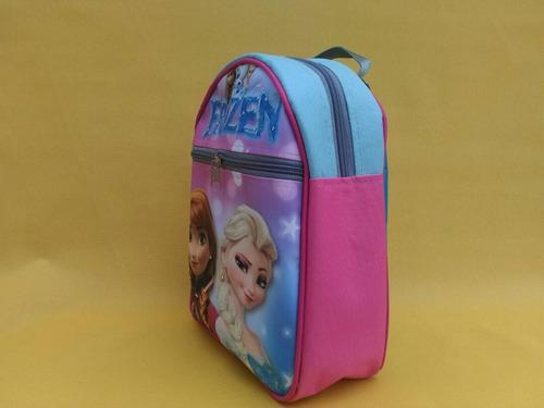 bolso pre-escolar para niñas frozen (mayor y detal)