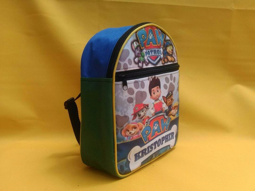 bolso pre-escolar para niños paw patrol, (mayor y detal)