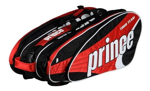 bolso raquetero prince tour team x12 2014 rojo