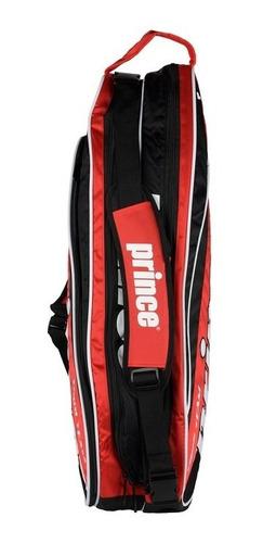 bolso raquetero prince tour team x6 2014 rojo