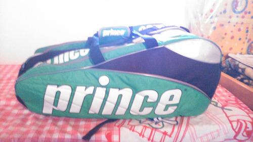 bolso raquetero prince x12 (mochila)