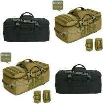 bolso ropero militar  coyote-negro( online )
