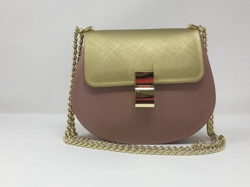 5de3d07d2 Bolso Sapsucker Pvc Rosa Dorado Metalizado - $ 75.000 en Mercado Libre