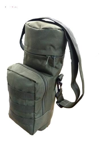 bolso táctico porta botellas/termo con sistema molle