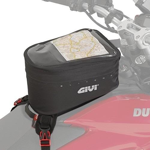 bolso tanque givi universal waterproof gtr706 solomototeam