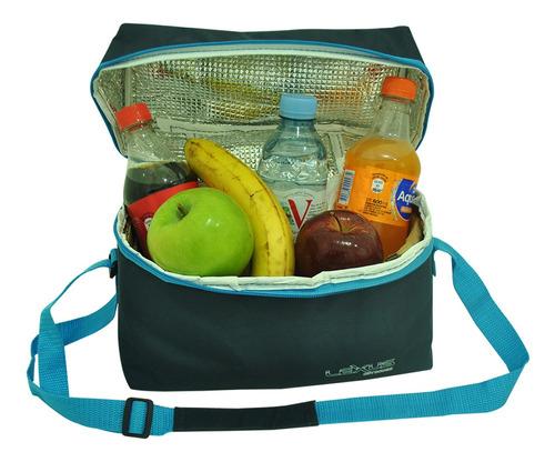 bolso térmico 6 l lunchera conservadora camping escolar