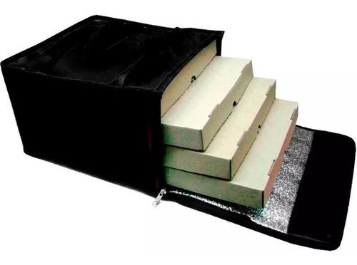 bolso termico delivery pizzas 4 cajas - cuotas
