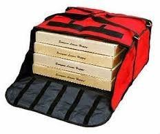 bolso termico p/ pizza,empanadas comidas c/portacomanda