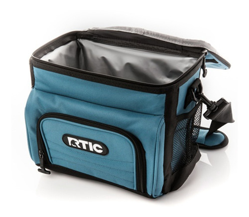 bolso térmico rtic, light blue, capacidad 8 latas