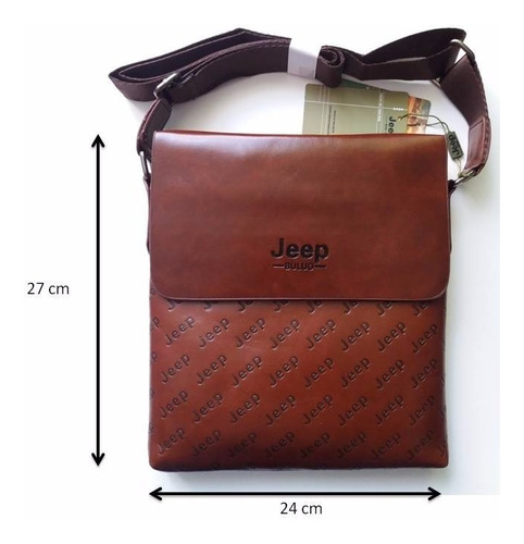 bolso (tipo morral) jeep