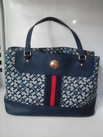 3f12f3e5cd2 Bolso Cartera Tommy Hilfiger Color Azul 100% Original - Bolsos ...