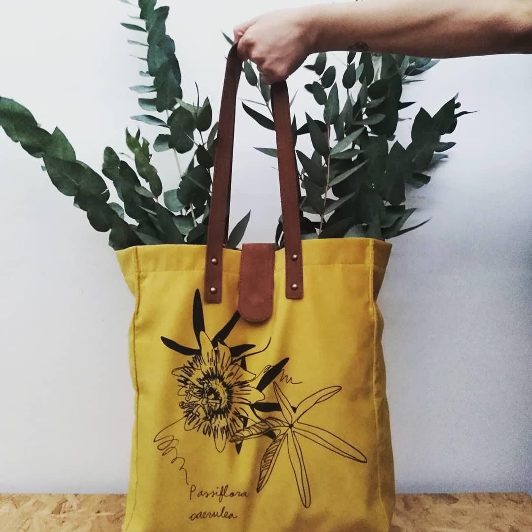 Zoom Bolso Bag De Tote Cargando Pana xFYwqzY46