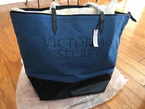 b2f16b1b7 Bolso Victoria Secret Tote - Equipaje, Bolsos y Carteras Azul en ...