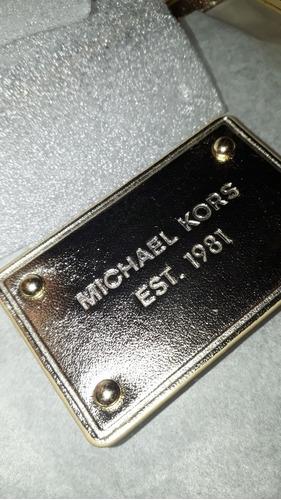 bolso transparente michael kors nuevo sellado