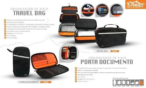 bolso viajero porta cosméticos travel bag ecology