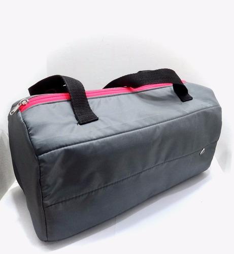 bolso viajero tipo cartera casual estilo deportivo adidas