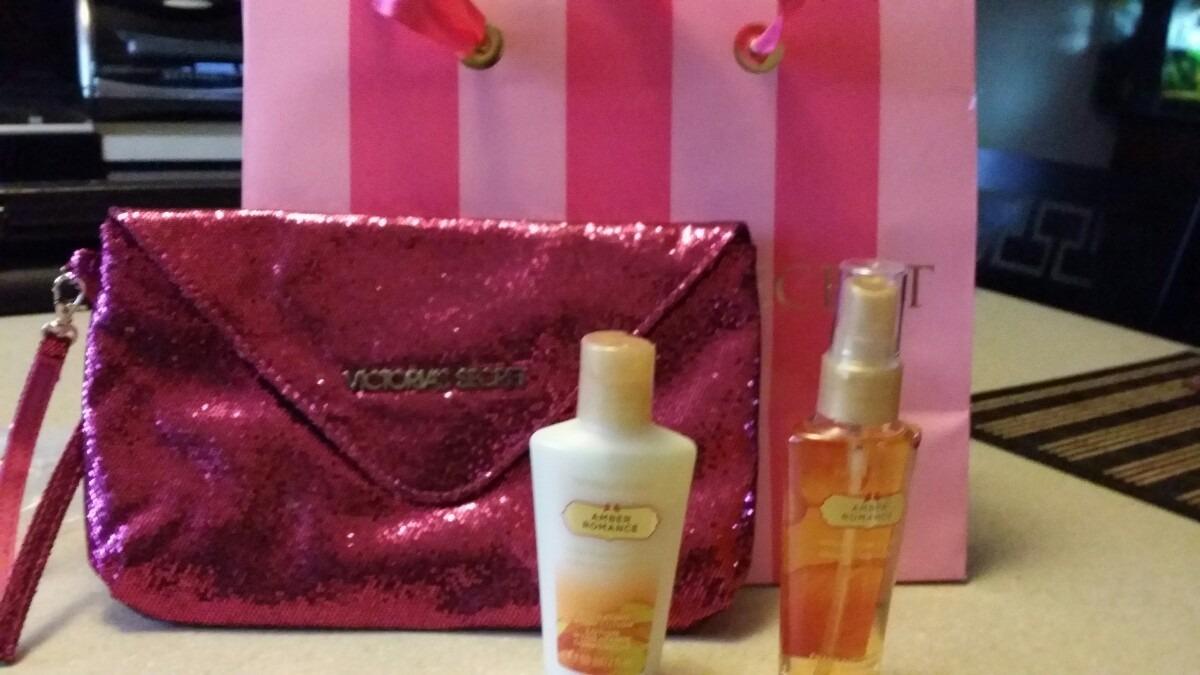 Bolsa Dourada Victoria Secrets : Bolso victoria secret con regalos en mercado libre