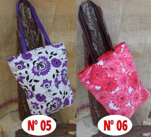 bolso y cartera para damas en tela 100% originales damas