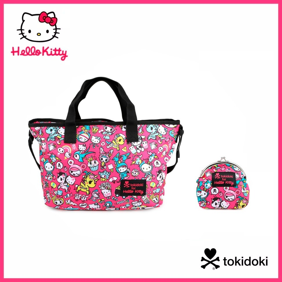 80c249931d7 Bolso Y Monedero Tokidoki For Hello Kitty Kawaii Kisslock ...