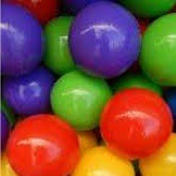 bolson bolsa 100 pelotas - peloteros niños casita piletas