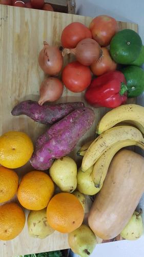 bolsón de frutas y verduras