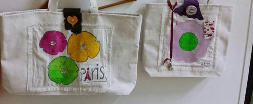 bolsos artesanales :comprando los 3 !!! 10% dto