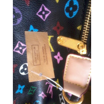 Cartera Bolso Black Vuitton Nuevo